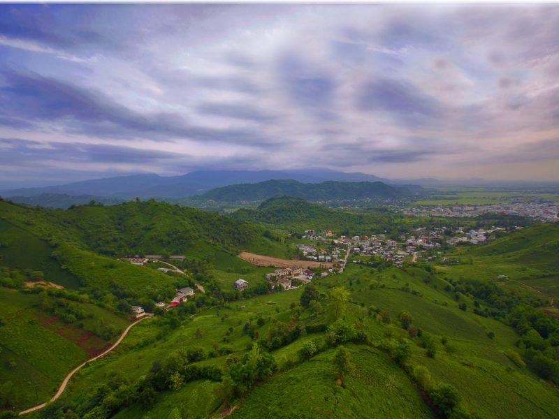 تصویربرداری هوایی (هلی شات) - لاهیجان استان گیلان