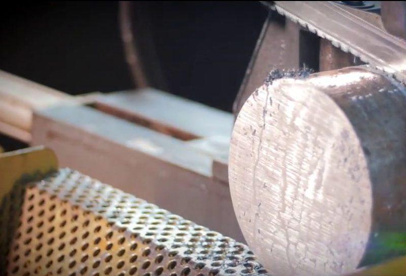 اره های نواری آهن بر کسمک Kesmak