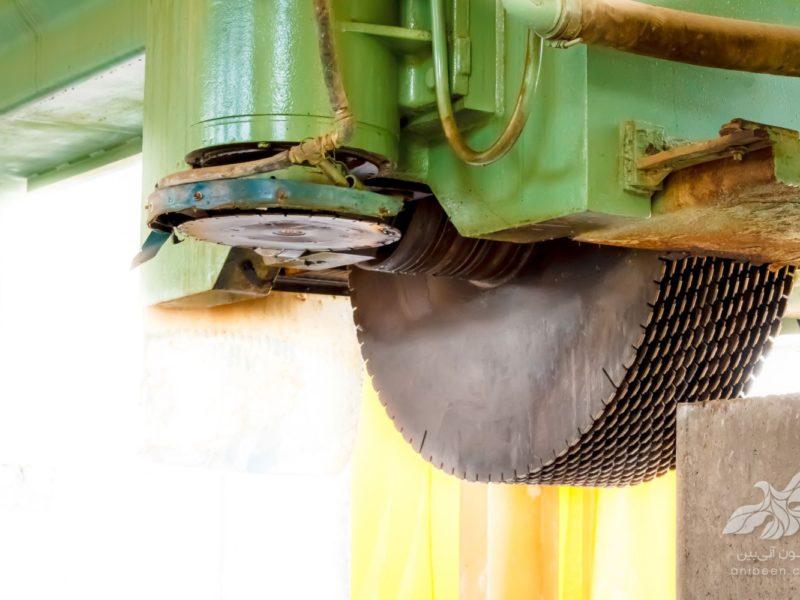عکاسی صنعتی | کارخانه سنگ تریمو | برش سنگ