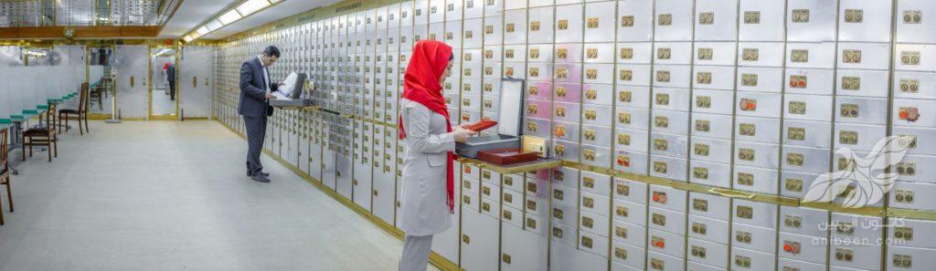 عکاسی تبلیغاتی   صندوق امانات بانک ملی