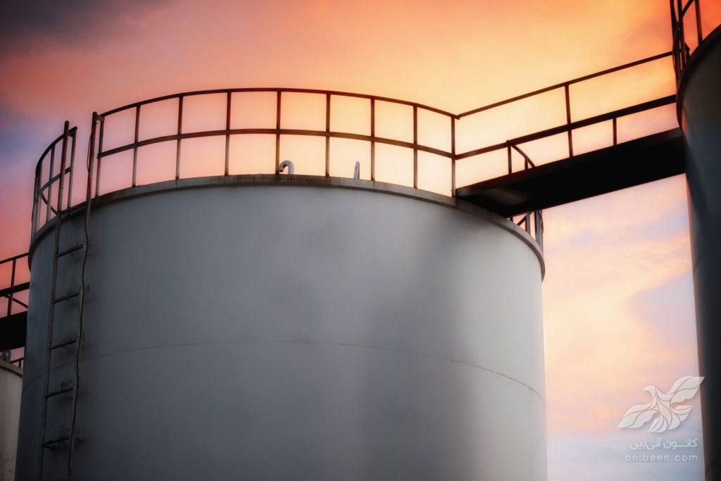 عکاسی صنعتی | صنایع شیمیایی ادیب | مخازن سوخت
