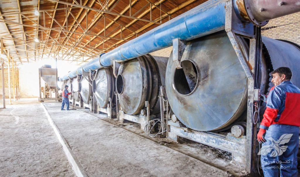 عکاسی صنعتی | کارخانه گلبن بهار | تولید کننده کود شیمیایی