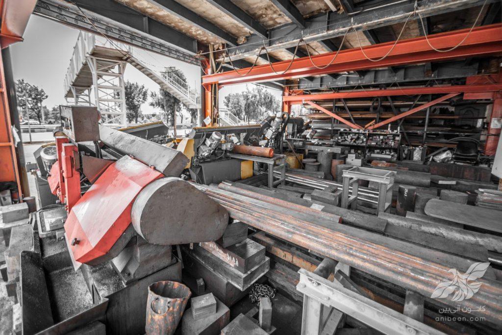 عکاسی صنعتی | فولاد حامیران