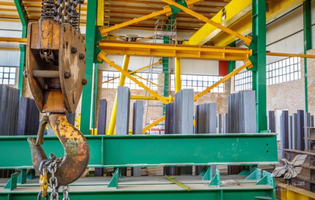 عکاسی صنعتی | انبار فولاد حامیران