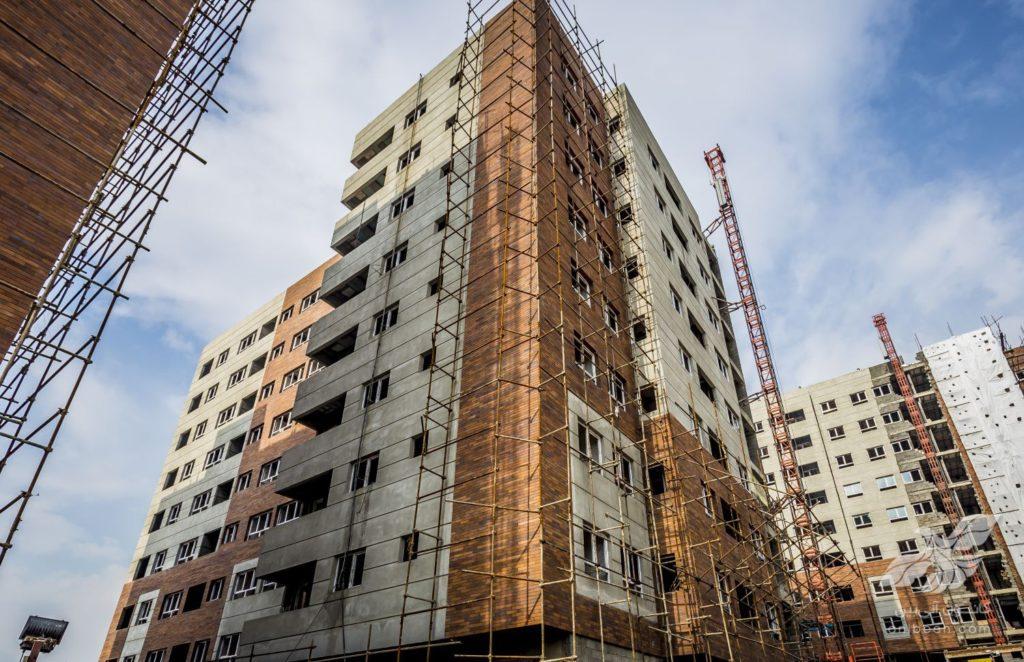 عکاسی پروژه های معماری | مجتمع تجاری مسکونی کوهسار