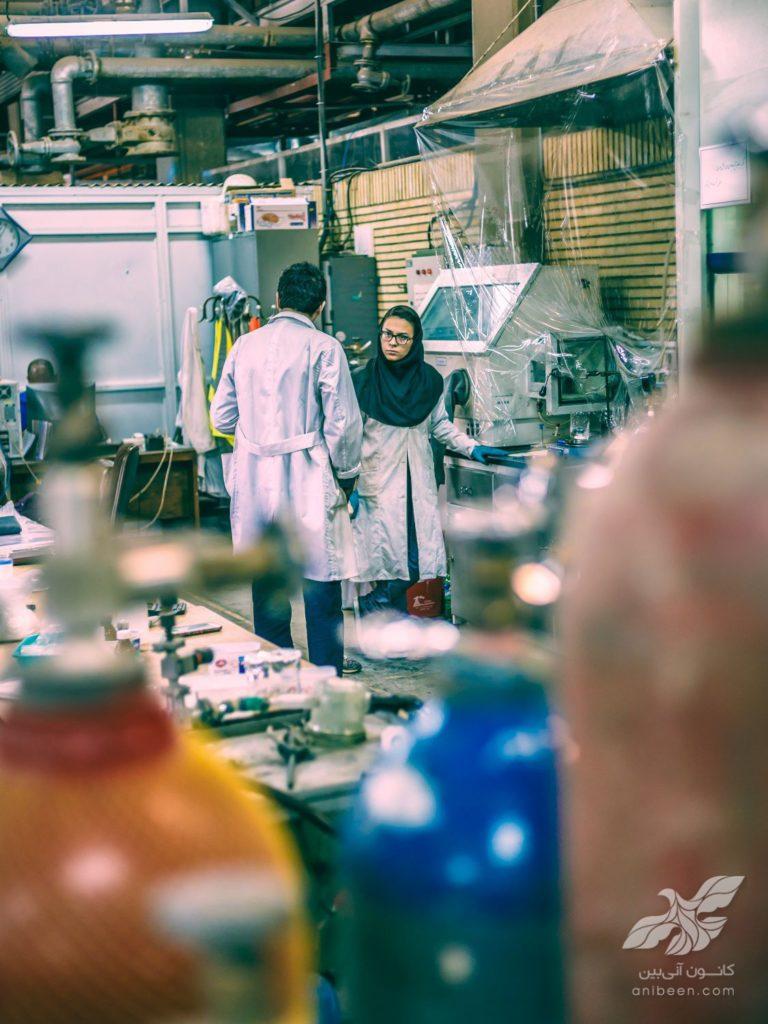 عکاسی صنعتی | پژوهشگاه پلیمر