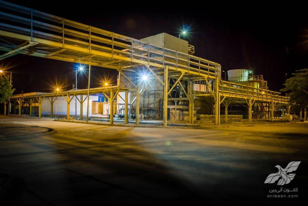 عکاسی کارخانجات و صنایع نفت و گاز و پتروشیمی | صنایع فسفات کارون