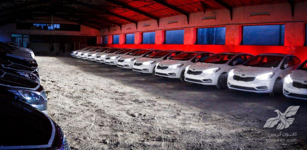 عکاسی خودرو | انبار کوشا خودرو | سراتو
