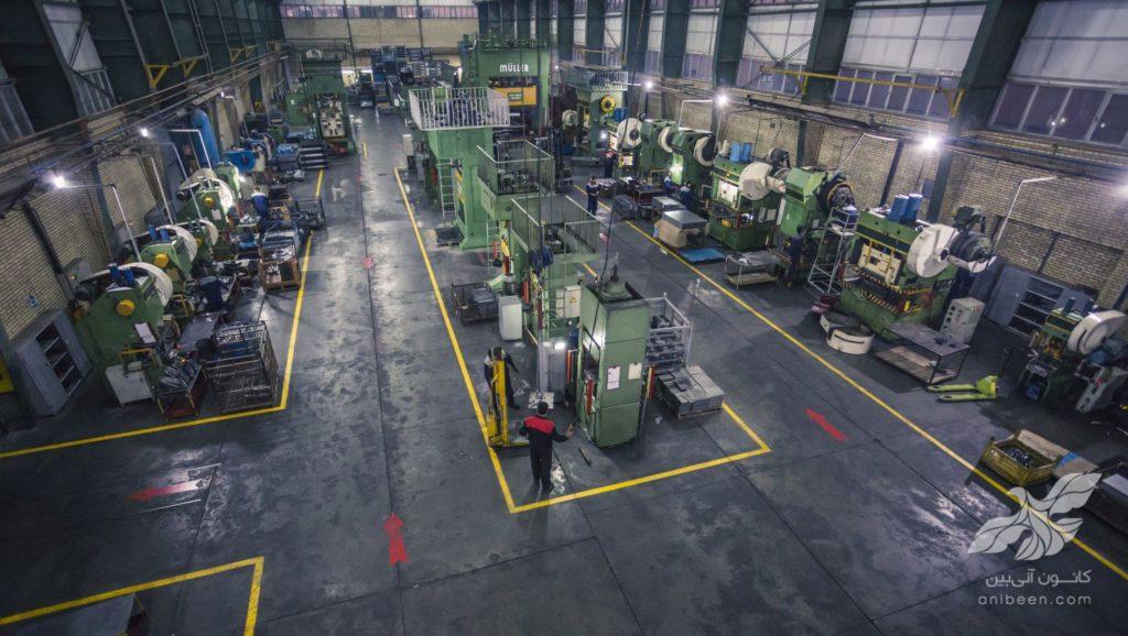 عکاسی صنعتی | کارخانه صنایع لک