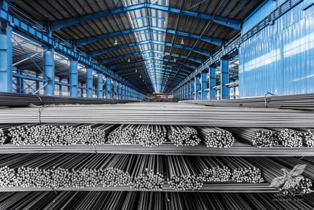 عکاسی صنعتی | کارخانه پرشین فولاد | میلگرد عاجدار