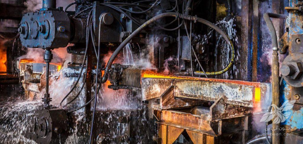 عکاسی صنعتی | کارخانه پرشین فولاد