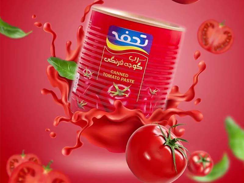 تولید محتوا رب گوجه تحفه